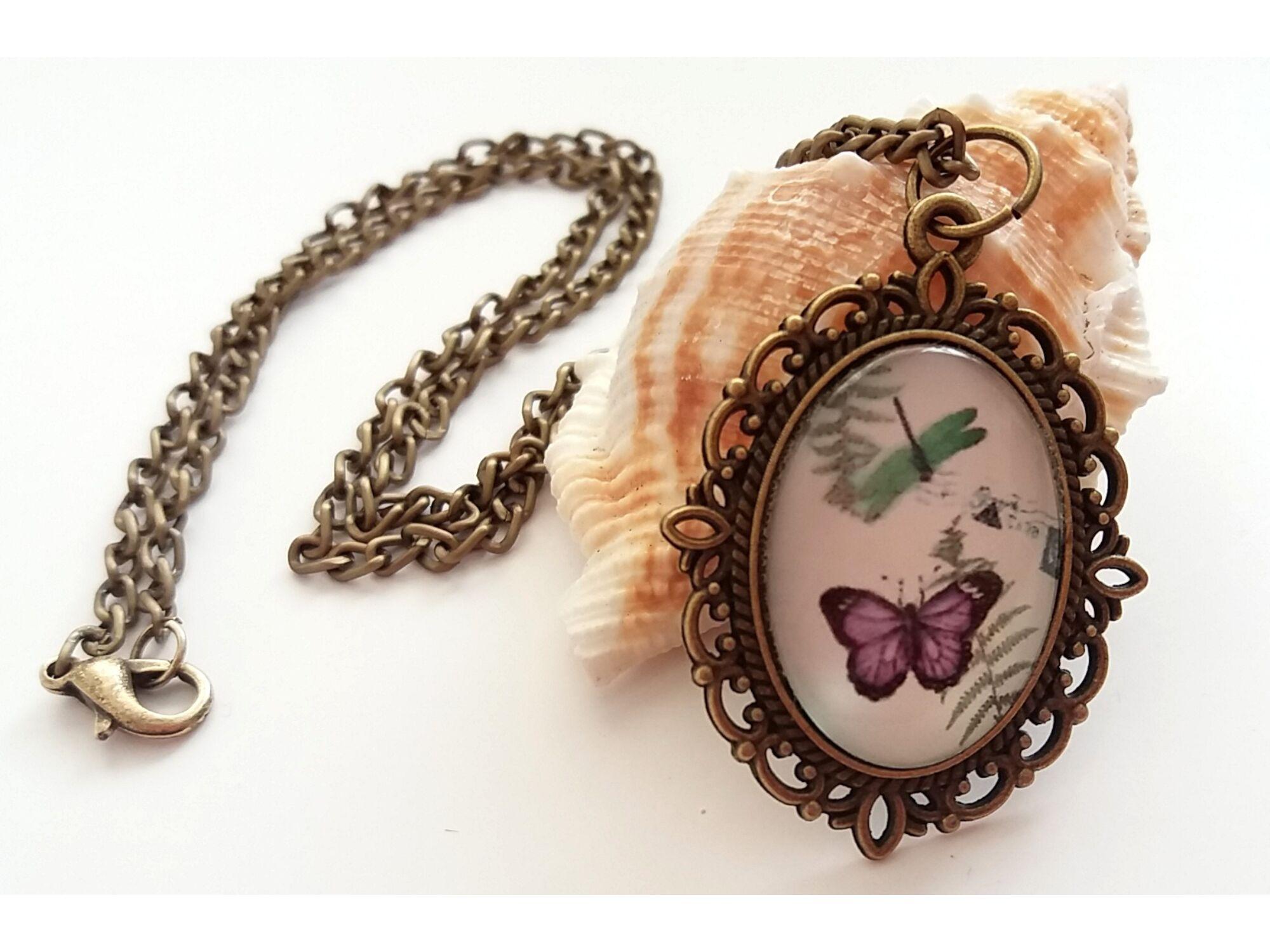 Pillangó nyaklánc