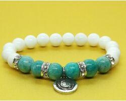 Arana collection, amazonit és hókvarc