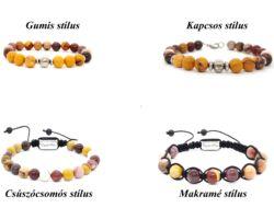 Arana kollekció, amazonit és hókvarc